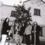 1995 fundadores con amigos en la primera sede de Syncronía